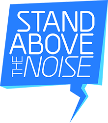 Stand Above The Noise logo